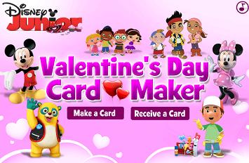 Disney Jr Allows Kids To Create Their Own Free Valentineu0027s ...