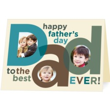 fathers card