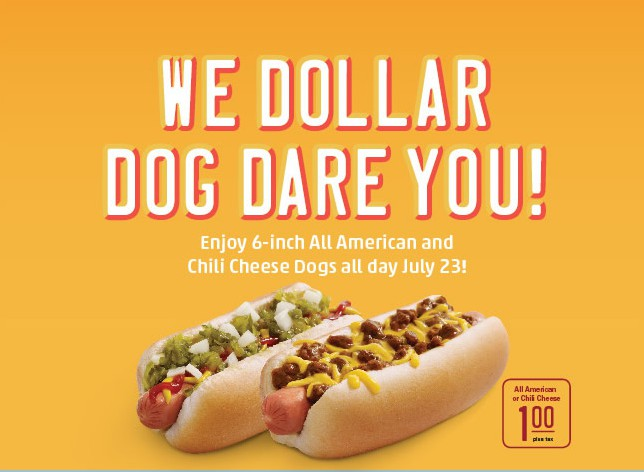 Ted's hot dogs coupons 2018